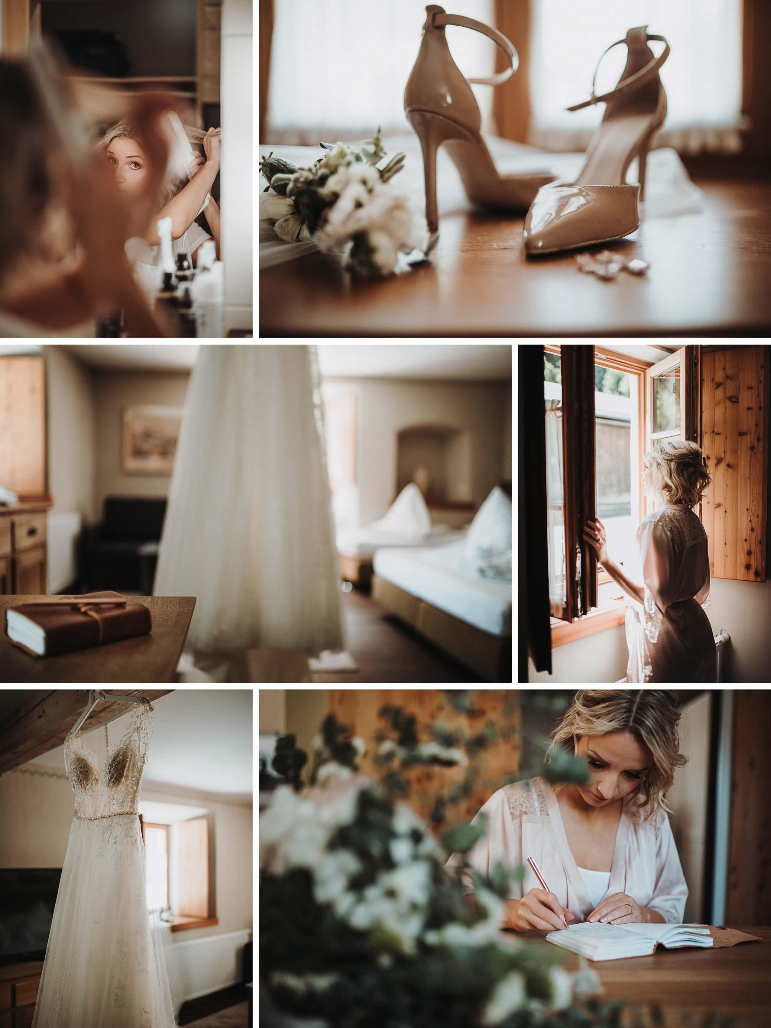 Getting Ready Bride Jennifer Stieler