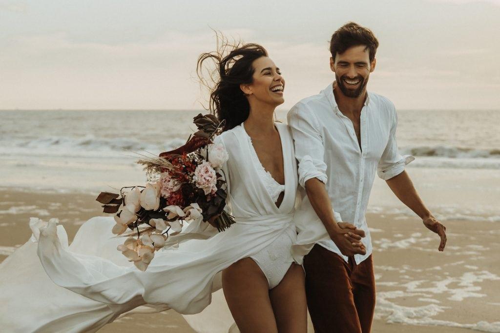Hochzeitsfotograf Strand Holland