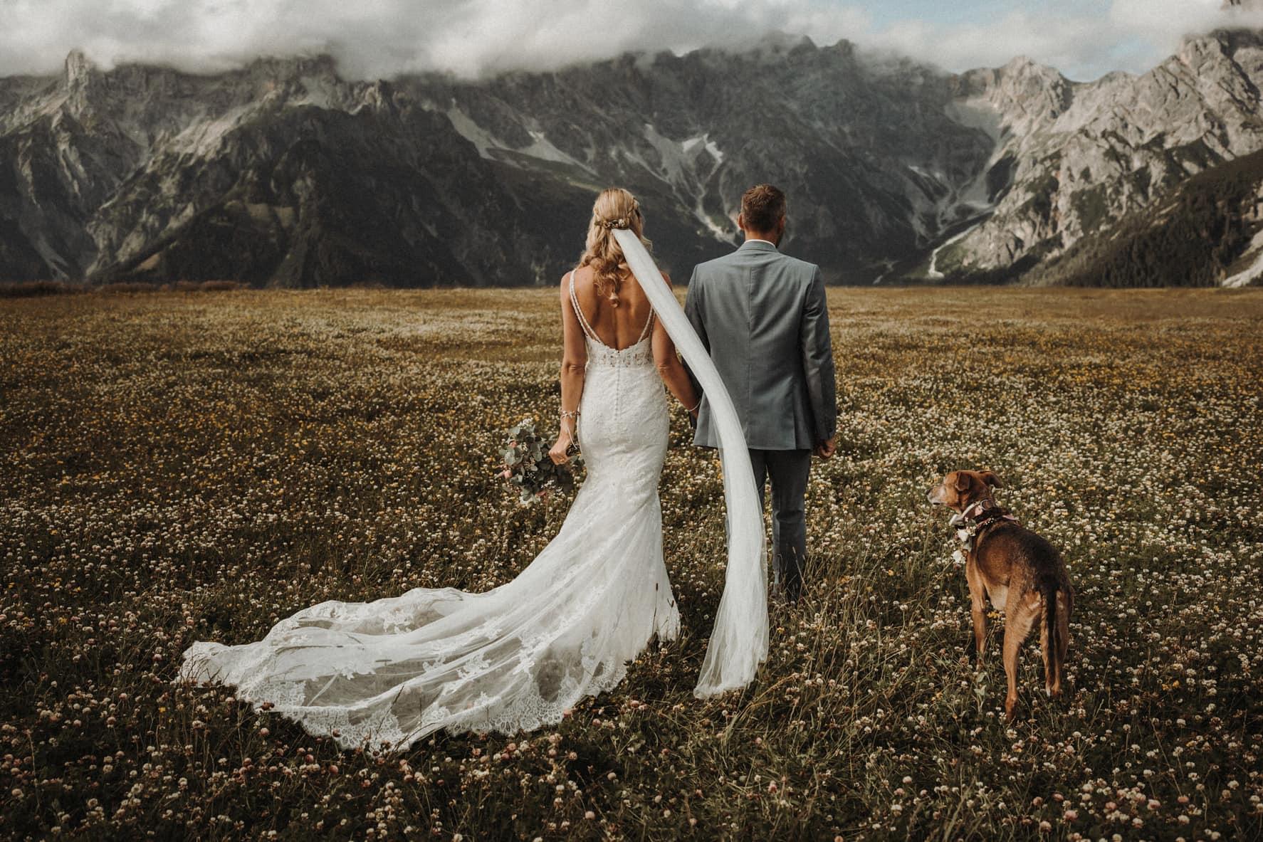 Steinbockalm Hochzeit Österreich