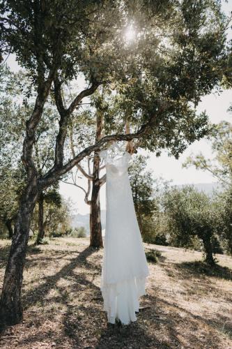Bridal Dress Olive